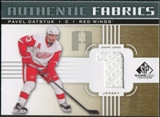 2011/12 Upper Deck SP Game Used Authentic Fabrics Gold #AFPD2 Pavel Datsyuk 1 C