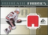2011/12 Upper Deck SP Game Used Authentic Fabrics Gold #AFPK1 Patrick Kane A C