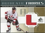 2011/12 Upper Deck SP Game Used Authentic Fabrics Gold #AFPM3 Patrick Marleau L C