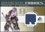 2011/12 Upper Deck SP Game Used Authentic Fabrics Gold #AFPR3 Patrick Roy R C