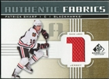 2011/12 Upper Deck SP Game Used Authentic Fabrics Gold #AFPS2 Patrick Sharp 1 C