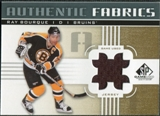 2011/12 Upper Deck SP Game Used Authentic Fabrics Gold #AFRB1 Ray Bourque # D