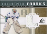 2011/12 Upper Deck SP Game Used Authentic Fabrics Gold #AFRL2 Roberto Luongo L D