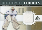 2011/12 Upper Deck SP Game Used Authentic Fabrics Gold #AFRL3 Roberto Luongo O D