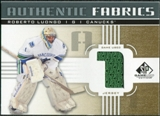 2011/12 Upper Deck SP Game Used Authentic Fabrics Gold #AFRL1 Roberto Luongo 1 C