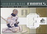 2011/12 Upper Deck SP Game Used Authentic Fabrics Gold #AFRM2 Ryan Miller F C