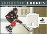 2011/12 Upper Deck SP Game Used Authentic Fabrics Gold #AFRY1 Bobby Ryan A C