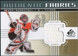 2011/12 Upper Deck SP Game Used Authentic Fabrics Gold #AFSB3 Sergei Bobrovsky 5 C