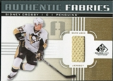 2011/12 Upper Deck SP Game Used Authentic Fabrics Gold #AFSC1 Sidney Crosby I C
