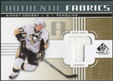 2011/12 Upper Deck SP Game Used Authentic Fabrics Gold #AFSC3 Sidney Crosby T C