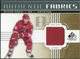 2011/12 Upper Deck SP Game Used Authentic Fabrics Gold #AFSD2 Shane Doan D C