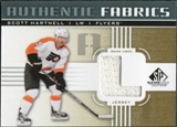 2011/12 Upper Deck SP Game Used Authentic Fabrics Gold #AFSH2 Scott Hartnell L C