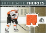 2011/12 Upper Deck SP Game Used Authentic Fabrics Gold #AFSH3 Scott Hartnell R C