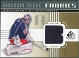 2011/12 Upper Deck SP Game Used Authentic Fabrics Gold #AFSM2 Steve Mason B C