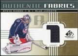 2011/12 Upper Deck SP Game Used Authentic Fabrics Gold #AFSM1 Steve Mason 1 D