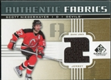 2011/12 Upper Deck SP Game Used Authentic Fabrics Gold #AFSN2 Scott Niedermayer 2 C
