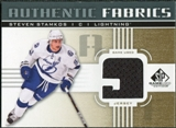 2011/12 Upper Deck SP Game Used Authentic Fabrics Gold #AFSS3 Steven Stamkos 9 C