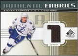 2011/12 Upper Deck SP Game Used Authentic Fabrics Gold #AFSS2 Steven Stamkos 1 C