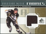 2011/12 Upper Deck SP Game Used Authentic Fabrics Gold #AFST3 Jordan Staal P D