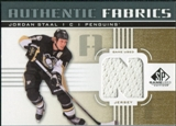 2011/12 Upper Deck SP Game Used Authentic Fabrics Gold #AFST2 Jordan Staal N C