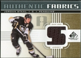 2011/12 Upper Deck SP Game Used Authentic Fabrics Gold #AFST4 Jordan Staal S C