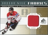 2011/12 Upper Deck SP Game Used Authentic Fabrics Gold #AFSW4 Shea Weber O C