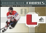 2011/12 Upper Deck SP Game Used Authentic Fabrics Gold #AFSW3 Shea Weber L C