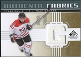 2011/12 Upper Deck SP Game Used Authentic Fabrics Gold #AFTE2 Tyler Ennis G D