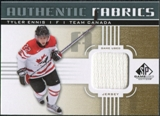 2011/12 Upper Deck SP Game Used Authentic Fabrics Gold #AFTE4 Tyler Ennis O D