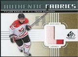 2011/12 Upper Deck SP Game Used Authentic Fabrics Gold #AFTE3 Tyler Ennis L C