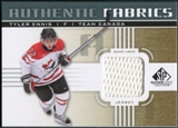 2011/12 Upper Deck SP Game Used Authentic Fabrics Gold #AFTE1 Tyler Ennis D C