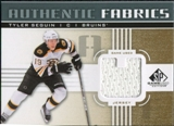 2011/12 Upper Deck SP Game Used Authentic Fabrics Gold #AFTS4 Tyler Seguin U C