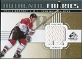 2011/12 Upper Deck SP Game Used Authentic Fabrics Gold #AFWG4 Wayne Gretzky R A