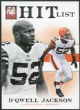 2012 Panini Elite Hit List #2 D'Qwell Jackson /999