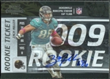 2009 Panini Playoff Contenders #172 Zach Miller Autograph