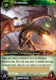 World of Warcraft War of the Ancients Single Feldrake Loot Card