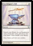 Magic the Gathering Fifth Dawn Single Steelshaper's Gift UNPLAYED (NM/MT)