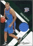 2010/11 Panini Prestige Prestigious Picks Materials Green #11 Cole Aldrich /499