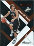 2010/11 Panini Prestige Prestigious Picks Orange #9 Gordon Hayward /299