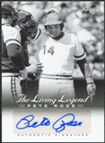 2012 Leaf Pete Rose The Living Legend Autographs #AU13 Pete Rose Autograph