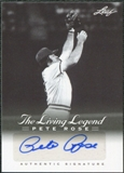 2012 Leaf Pete Rose The Living Legend Autographs #AU15 Pete Rose Autograph