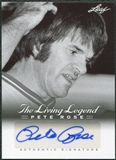 2012 Leaf Pete Rose The Living Legend Autographs #AU16 Pete Rose Autograph