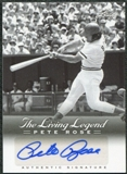 2012 Leaf Pete Rose The Living Legend Autographs #AU20 Pete Rose Autograph