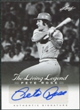2012 Leaf Pete Rose The Living Legend Autographs #AU21 Pete Rose Autograph