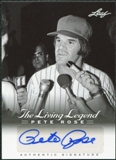 2012 Leaf Pete Rose The Living Legend Autographs #AU27 Pete Rose Autograph