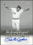 2012 Leaf Pete Rose The Living Legend Autographs #AU46 Pete Rose Autograph