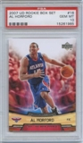 2007/08 Upper Deck NBA Rookie Box Set #16 Al Horford RC PSA 10 Gem Mint