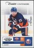 2011/12 Panini Contenders #180 Mark Katic RC /999