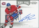 2011/12 Panini Contenders NHL Ink #30 Aaron Palushaj Autograph