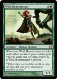 Magic the Gathering Return to Ravnica Single Wild Beastmaster FOIL
